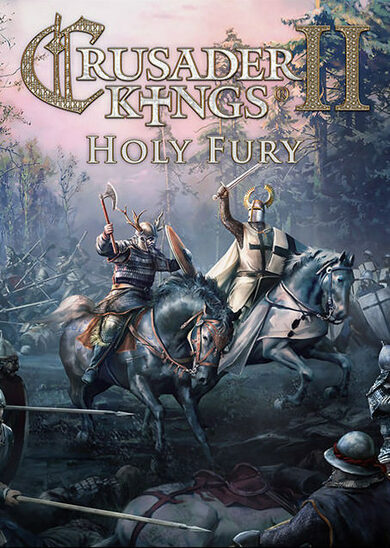 Crusader Kings II - Holy Fury (DLC) Steam Key GLOBAL