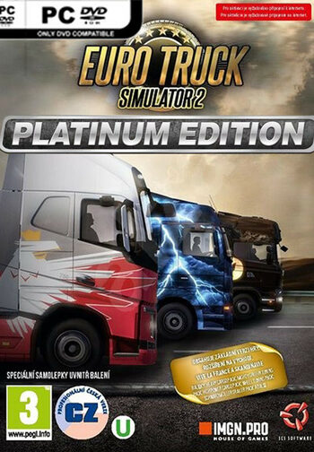 Euro Truck Simulator 2 - Platinum Edition Steam Key GLOBAL