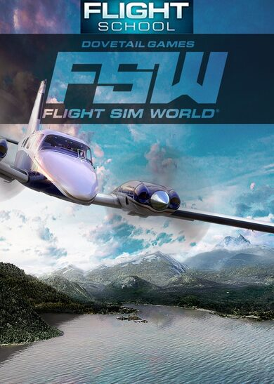 Dovetail Games Flight School + Flight Sim World Steam Key GLOBAL