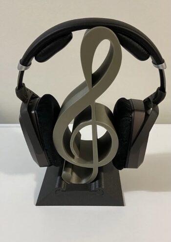 """Soporte Auriculares """"Nota Musical"""""""