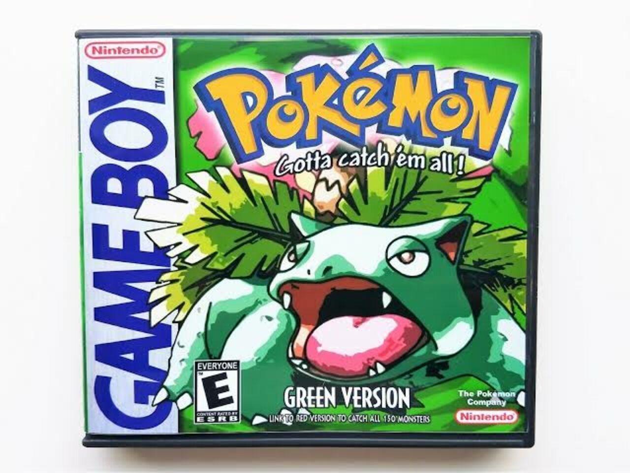 Pocket Monsters (Pokemon Green Version) Game Boy