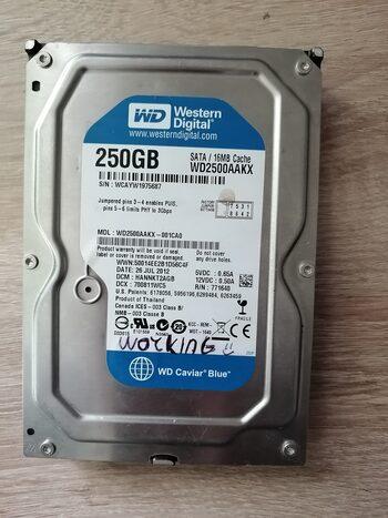 Western Digital WD Blue 250 GB HDD Storage