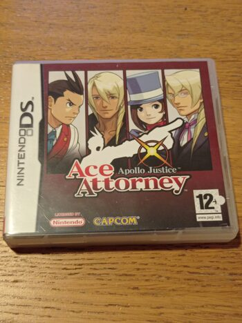 Apollo Justice: Ace Attorney Nintendo DS