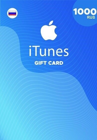 Apple iTunes Gift Card 1000 RUB iTunes Key RUSSIA фото