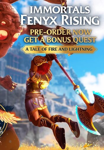 Immortals Fenyx Rising - A Tale of Fire and Lightning (DLC)(PS4/PS5/XBOX ONE/XBOX SERIES X/PC) Official Website Key EUROPE
