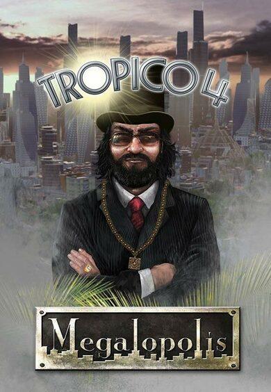 Tropico 4: Megalopolis (DLC) Steam Key EUROPE