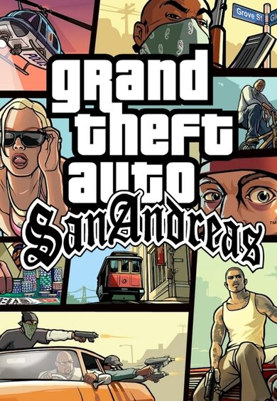 Grand Theft Auto: San Andreas Rockstar Games Launcher Key GLOBAL