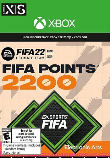 FIFA 22 - 2200 FUT Points Xbox Live Key GLOBAL