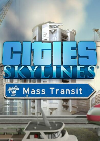 Cities: Skylines - Mass Transit (DLC) Steam Key GLOBAL