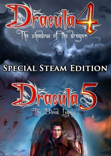 Dracula 4 and 5 - Steam Special Edition Steam Key GLOBAL