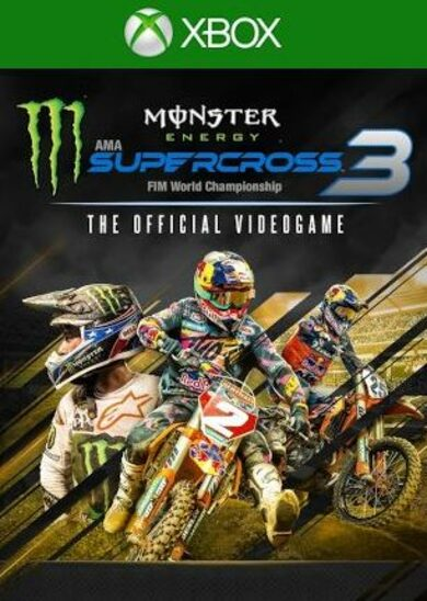 Monster Energy Supercross: The Official Videogame 3 (Xbox One) Xbox Live Key UNITED STATES