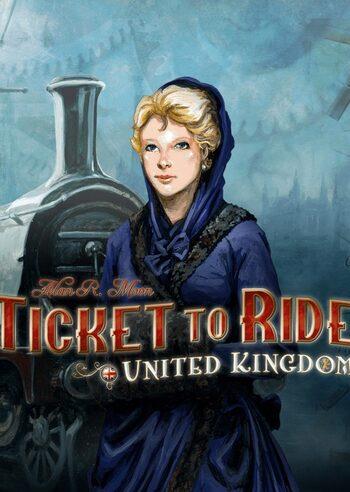 Ticket to Ride - United Kingdom (DLC) (PC) Steam Key GLOBAL