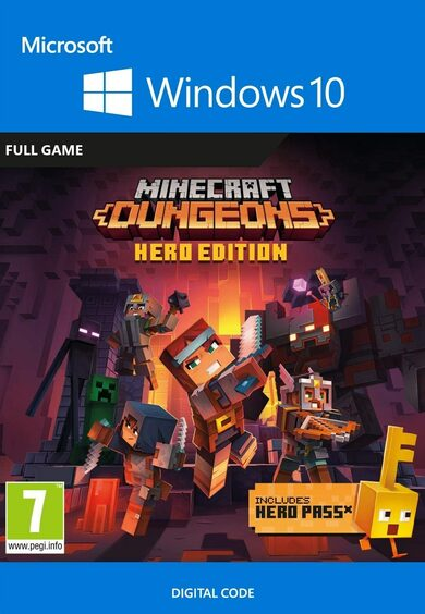 Minecraft Dungeons: Hero Edition - Windows 10 Store Key GLOBAL