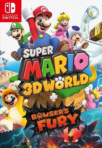 Super Mario 3D World + Bowser's Fury (Nintendo Switch) eShop Key UNITED STATES