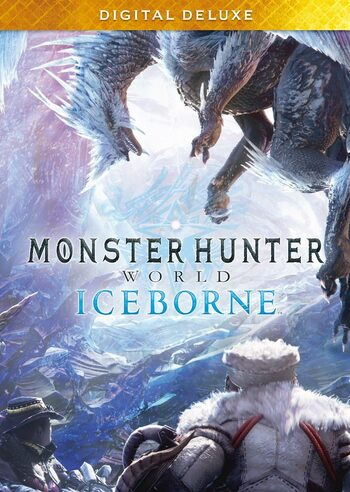 Monster Hunter World Iceborne Deluxe Edition DLC Steam Key GLOBAL