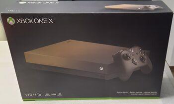 Xbox One x edición limitada Gold
