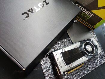 Zotac GeForce GTX 1070 8 GB 1506-1683 Mhz PCIe x16 GPU