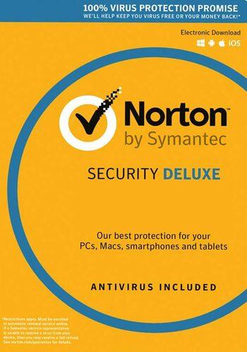 Norton Security Deluxe - 3 Device - 2 Year - Norton Key EUROPE
