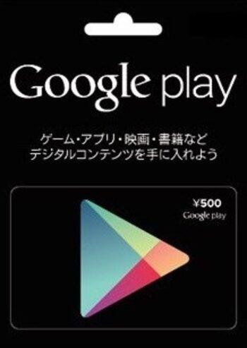 Google Play Gift Card 5000 JPY Key JAPAN