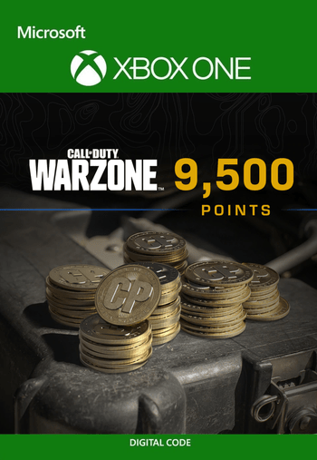 9,500 Call of Duty: Warzone Points XBOX LIVE Key GLOBAL