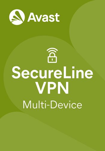 Avast SecureLine VPN (2022) 10 Devices 1 Year Avast Key GLOBAL