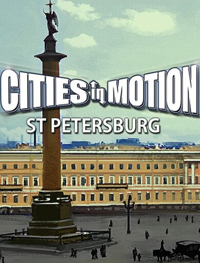 Cities in Motion - St. Petersburg (DLC) Steam Key GLOBAL
