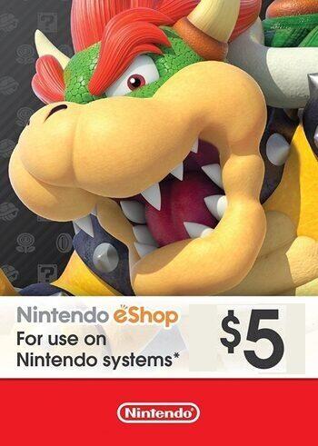 Nintendo eShop Card 5 USD Key UNITED STATES