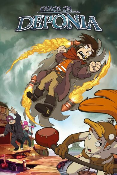 Chaos on Deponia Steam Key GLOBAL