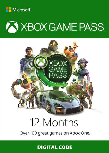 Xbox Game Pass 12 mois Clé Xbox Live GLOBAL
