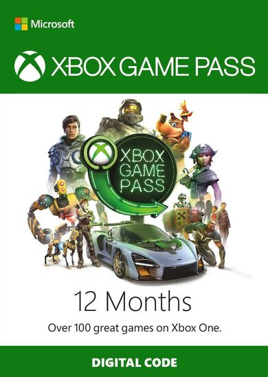 Xbox Game Pass 12 Months Xbox Live Key GLOBAL
