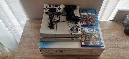 PlayStation 4, White, 500GB