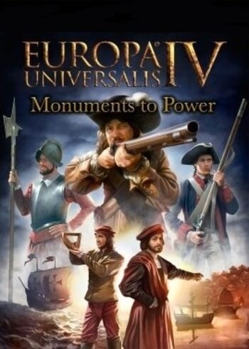 Europa Universalis IV - Monuments to Power Pack (DLC) Steam Key GLOBAL