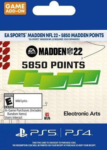 MADDEN NFL 22 - 5850 Madden Points (PS4/PS5) PSN Key UNITED STATES