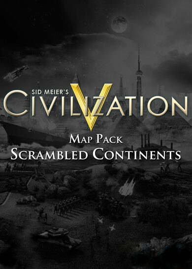 Sid Meier's Civilization V - Scrambled Continents Map Pack (DLC) Steam Key GLOBAL