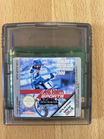 Jeremy McGrath Supercross 2000 Game Boy Color