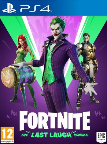 Fortnite: The Last Laugh Bundle + 1000 V-Bucks (PS4) PSN Key UNITED STATES