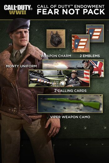 CoD WWII Call of Duty Endowment Fear Not Pack Steam Key GLOBAL