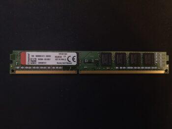 Kingston 4 GB (1 x 4 GB) DDR4-2666 Green / Black PC RAM