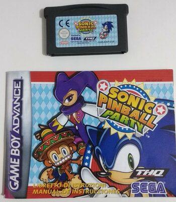 Sonic Pinball Party Game Boy Advance