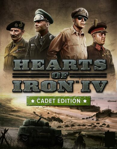 Hearts of Iron IV (Cadet Edition) Uncut Steam Key GLOBAL