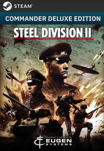 Steel Division 2 (Commander Deluxe Edition) (DLC) Gog.com Key GLOBAL