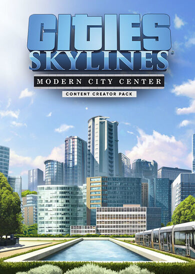 Buy Cities: Skylines - Content Creator Pack: Modern City Center (DLC) key