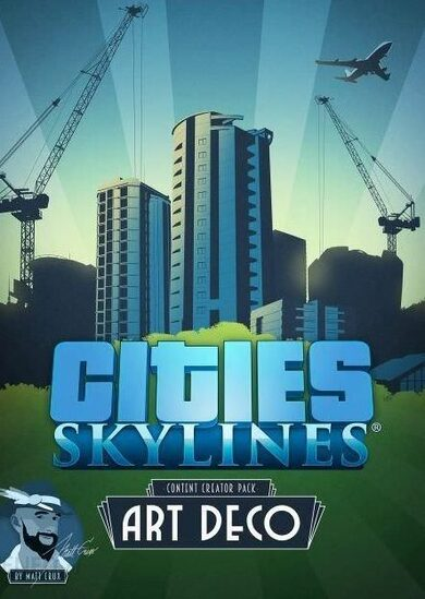 Cities: Skylines - Art Deco (DLC) Steam Key GLOBAL