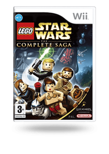 LEGO Star Wars: The Complete Saga Wii