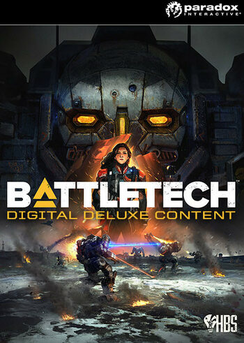 BattleTech Digital Deluxe Content (DLC) Steam Key GLOBAL