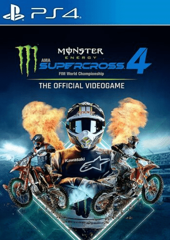 Monster Energy Supercross - The Official Videogame 4 (PS4) PSN Key EUROPE