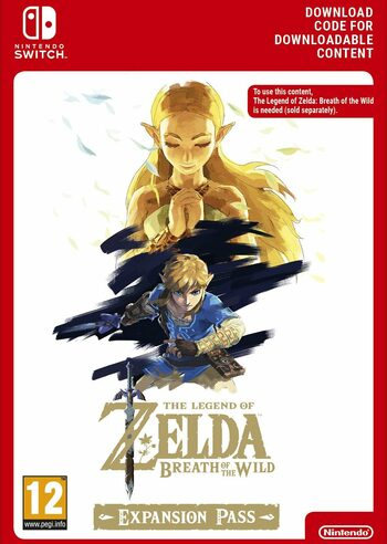 The Legend of Zelda: Breath of the Wild Expansion Pass DLC (Nintendo Switch) eShop Key EUROPE