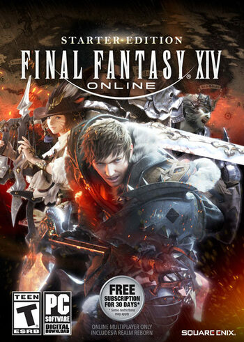 Final Fantasy XIV: Starter Edition Official website Key EUROPE