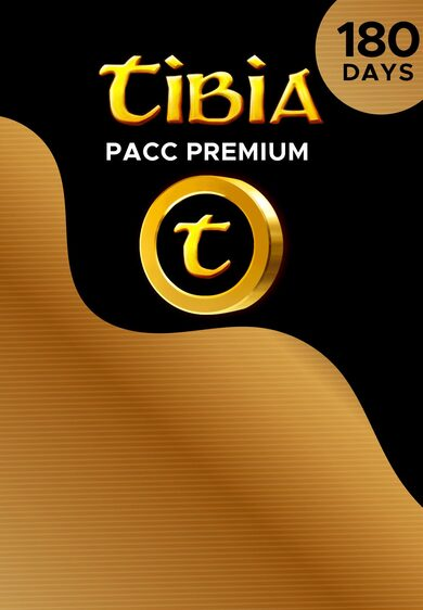 Tibia PACC Premium Time 180 Days Cipsoft Key GLOBAL