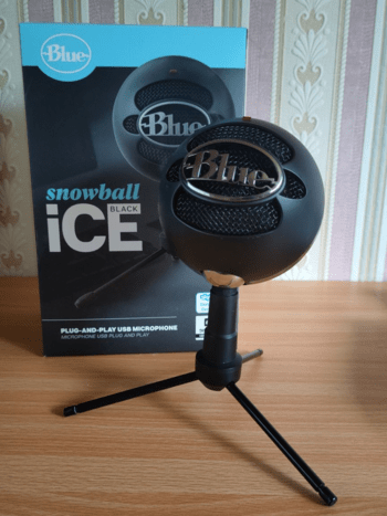 Microphone Blue Yeti Snowball